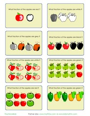 math worksheet : math and fraction practice activities for kids  worksheets cards  : Fractions Of Groups Worksheets