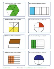 math worksheet : math and fraction practice activities for kids  worksheets cards  : Fraction Games Worksheets